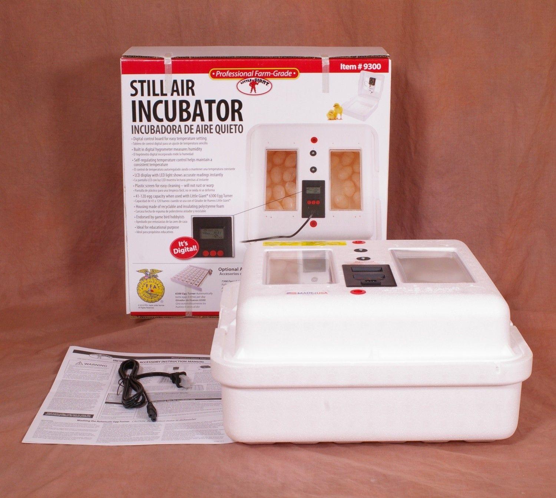 Little Giant Still Air Egg Incubator 9300 Egg incubator