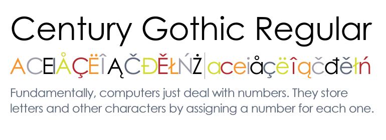 Download Century Gothic Font Free Mac