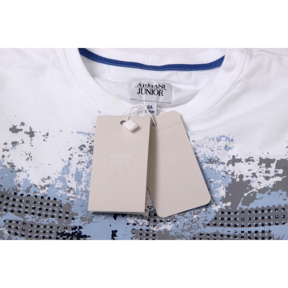 White 16a 16 Years Armani Junior Boys T Shirt C4h12 2f 10 Size 16a 16 Years Details C4h12 2f 10 Color W Armani Junior Armani Junior Boy Boys T Shirts