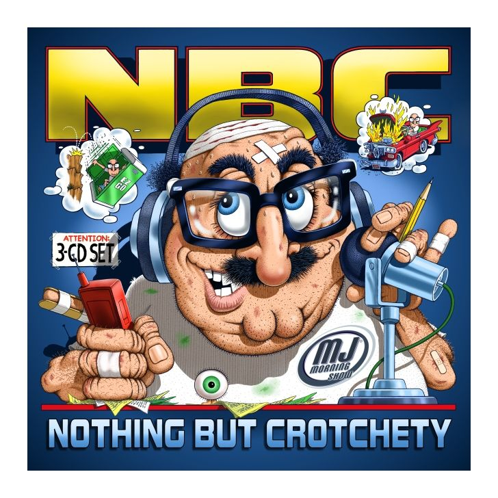93 3 Flz Tampa Crotchety Old Man Comic Book Cover Comic Books Radio Station