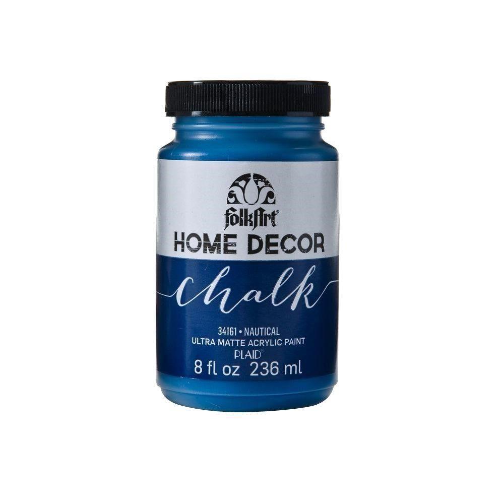 Folkart home decor chalk nautical blue acrylic paint 8 fl