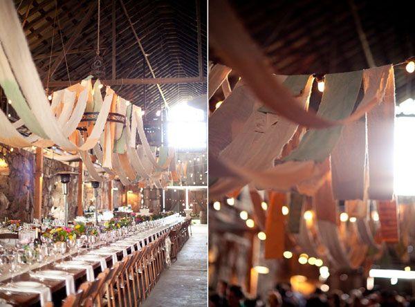 Decoration plafond mariage champetre for Decorer un plafond