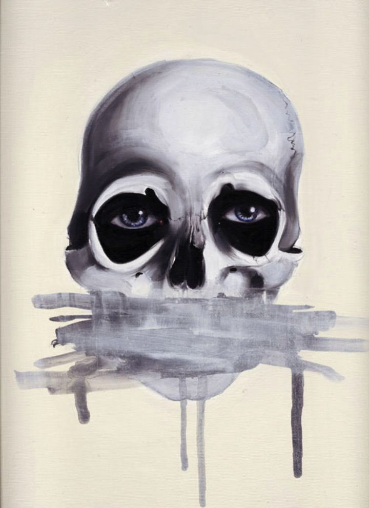 skull and eyes
