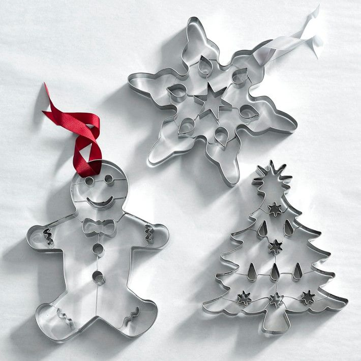 Giant Gingerbread Man Cookie Cutter with Cutouts