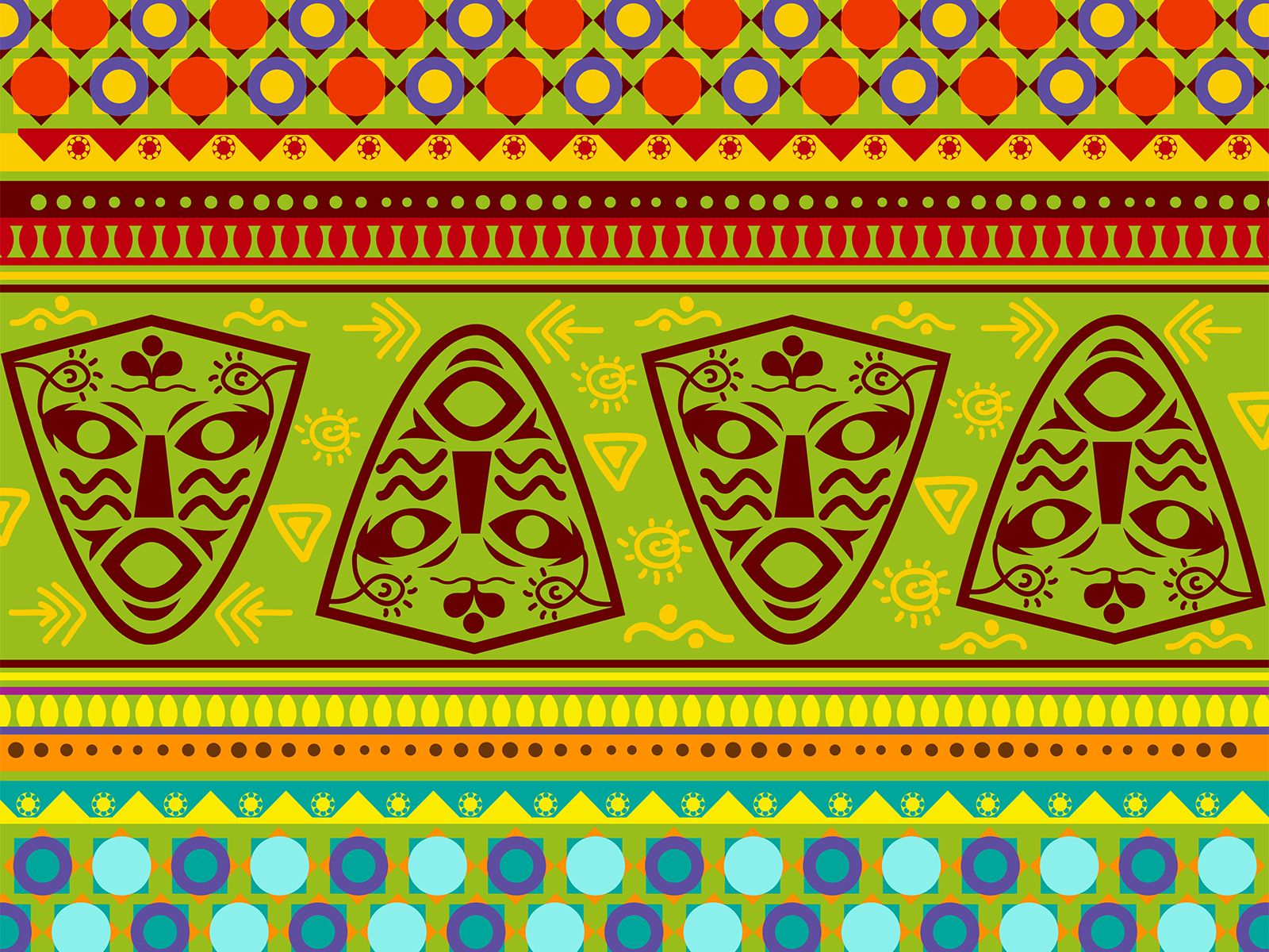 African decoration power templates ppt backgrounds pinterest african decoration power templates toneelgroepblik Image collections