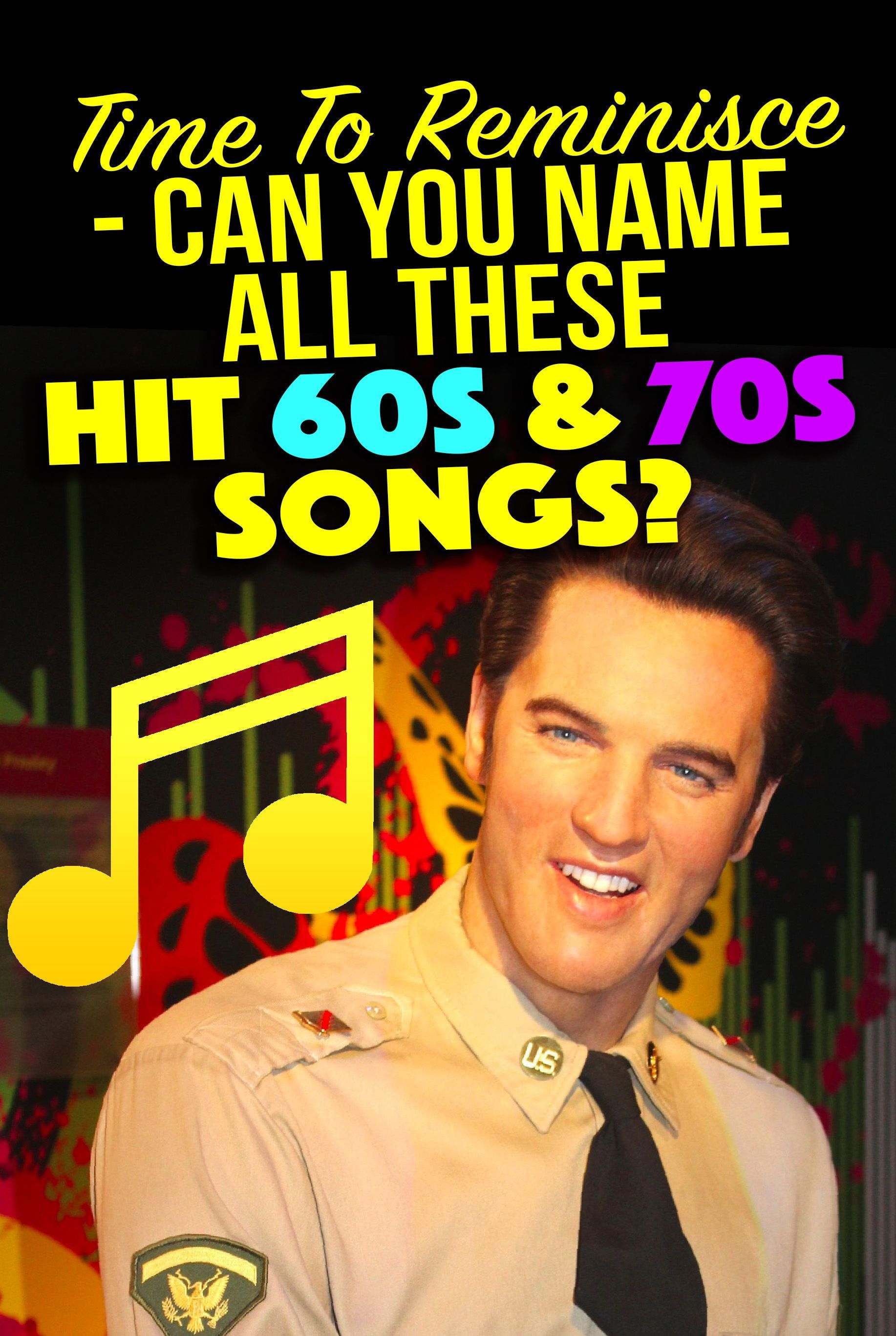 Music QUIZ This Quiz Will Test Your Knowledge Of All The Hit Songs From 60s And 70s How Many Do You Remember Nostalgia Vintage