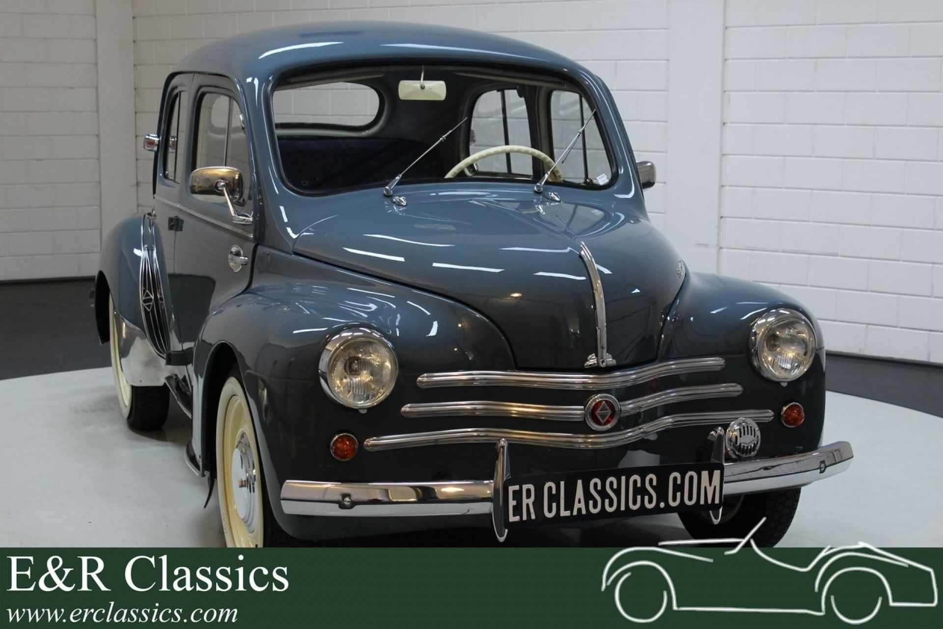 French Cars Since 1946 1958 Renault 4cv My Car Blogs Renault Autotrader Motor Car