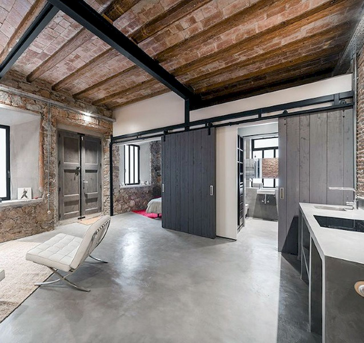 Industrial Style House Design Concept - watonmuni.com ...