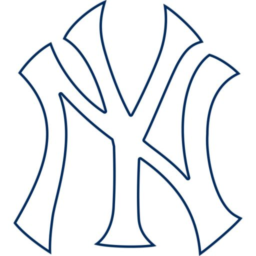 Baseball Team Logo New York Yankees Wall Decal for Home Interior Car
