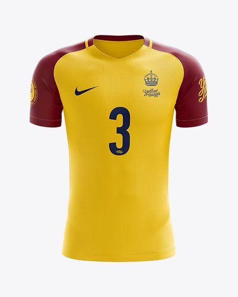 Download Men S Soccer Jersey Mockup Front View Shirt Mockup Clothing Mockup Mockup Free Psd