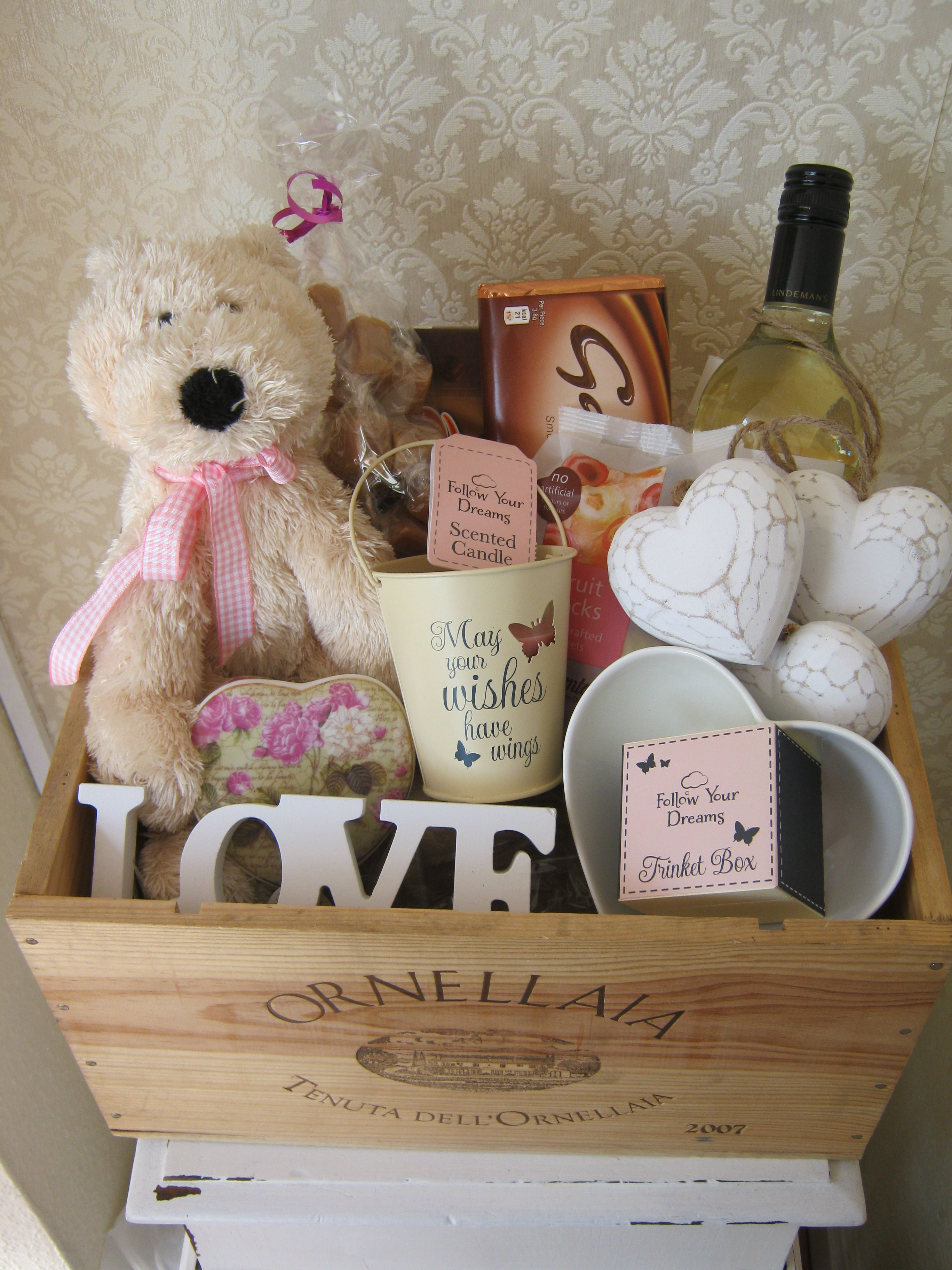 Send A Wedding Gift Basket : ... basket ideas gift basket olivia d abo birthdays forward personalised
