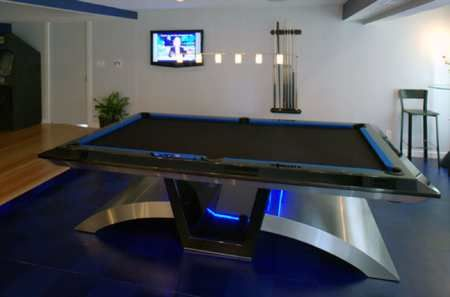 vibe pool table from billiards by design