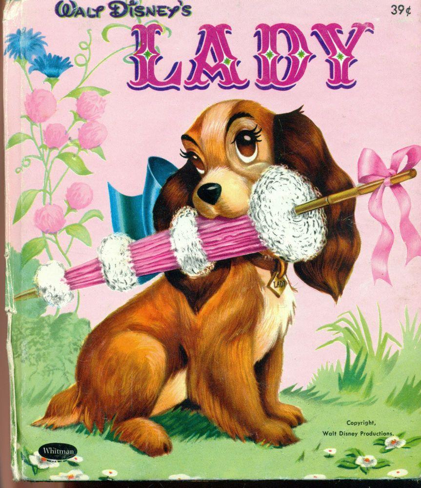 Vintage Walt Disneys Lady Whitman