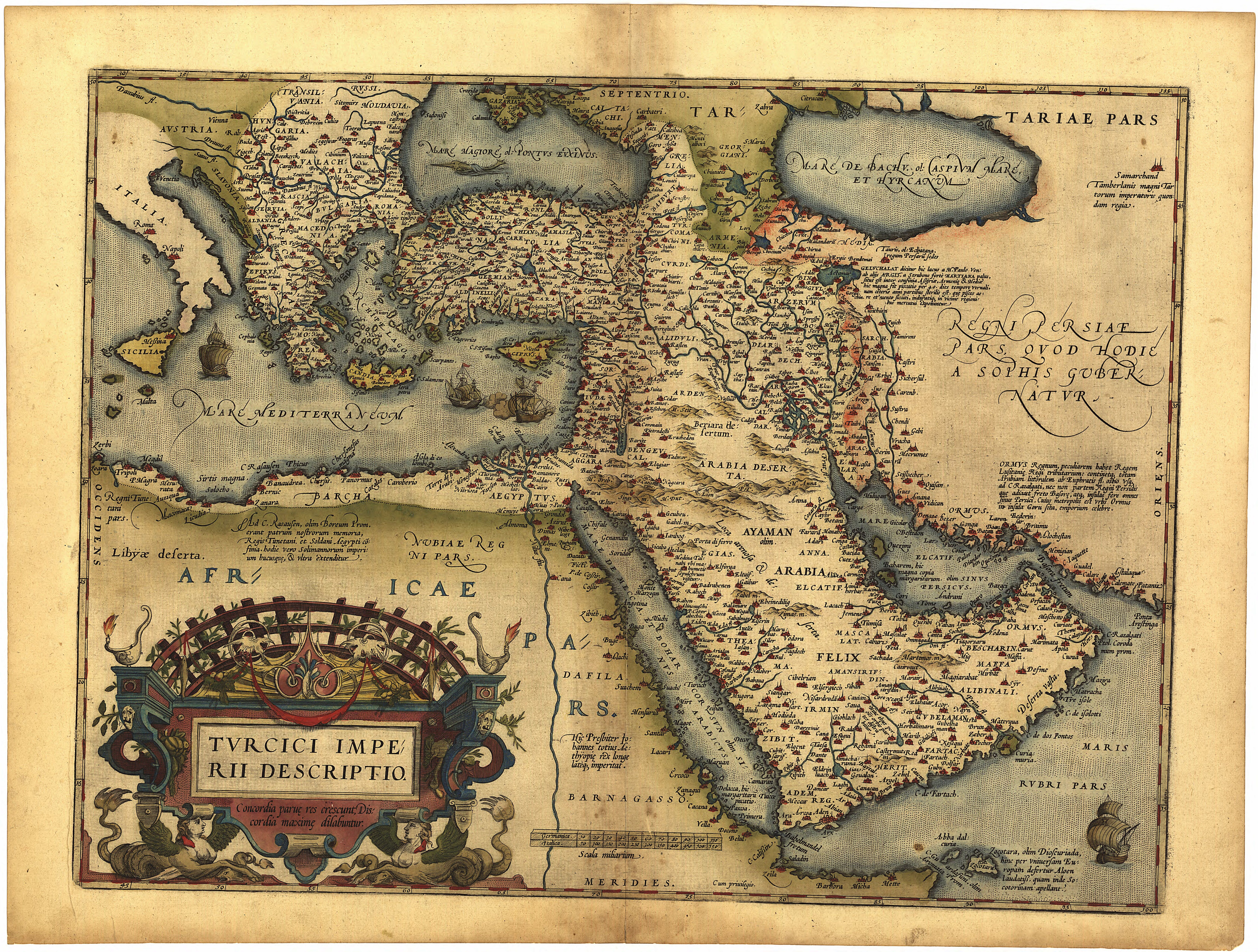 1570 philologist map of the middle east from the persia saudi arabia cyprus turkey iran iraq dubai israel digital 044 gumiabroncs Gallery