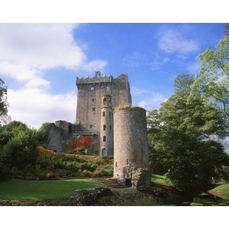 blarney castle co cork ireland medieval stronghold in blarney canvas art the irish image collection design pics 17 x 13 irish images cork ireland and
