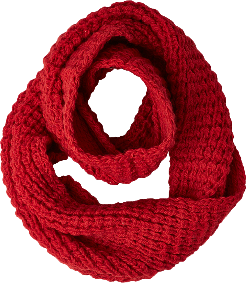 Red Scarf Png Image Red Scarves Knitted Scarf Scarf