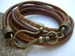 Bildergebnis für leather bracelet mens