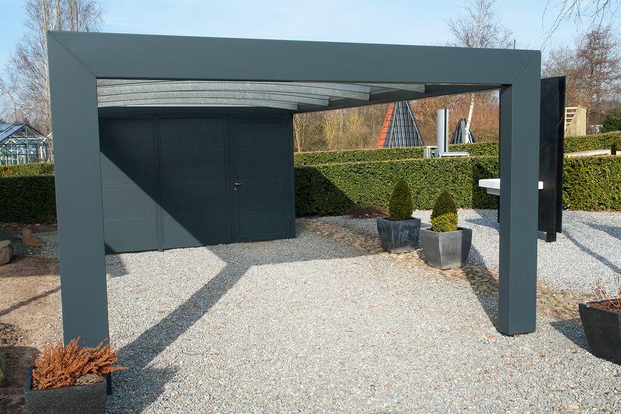 modern carport car garage parking yard ideas pinterest abri voiture refuges et. Black Bedroom Furniture Sets. Home Design Ideas