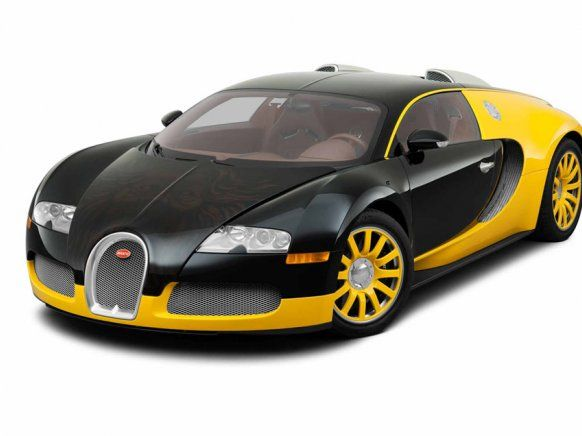 Bugatti Veyron From House Of Bijan Sporting The Dangerously Cool - Cool yellow cars