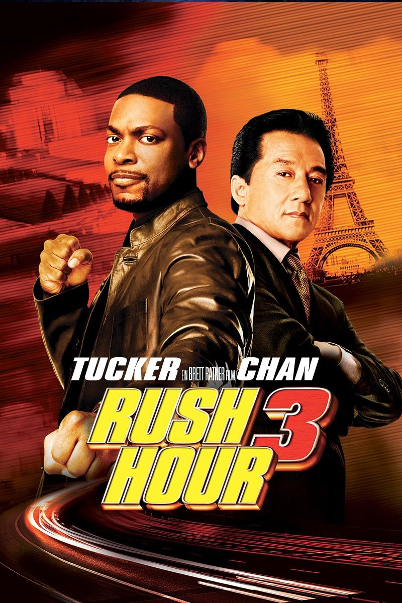 Rush Hour Classic Large Movie Poster Print