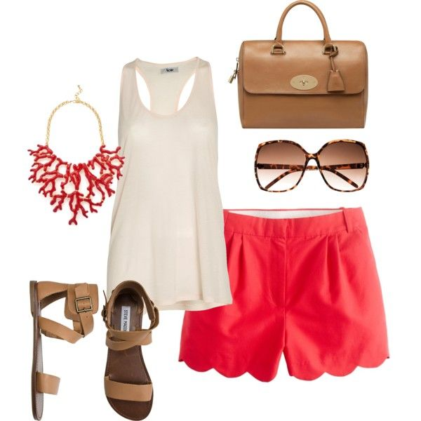 Red Summer, created by jackieboyd on Polyvore