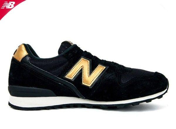 New Balance 996 femme cuir vintage Noir | Mode | New balance 996
