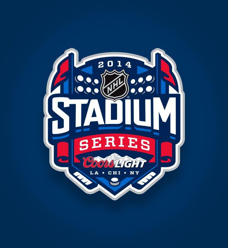 2014 Nhl Stadium Series Logo Design Sports Logo Design Sports Logo Inspiration Graphic Design Logo