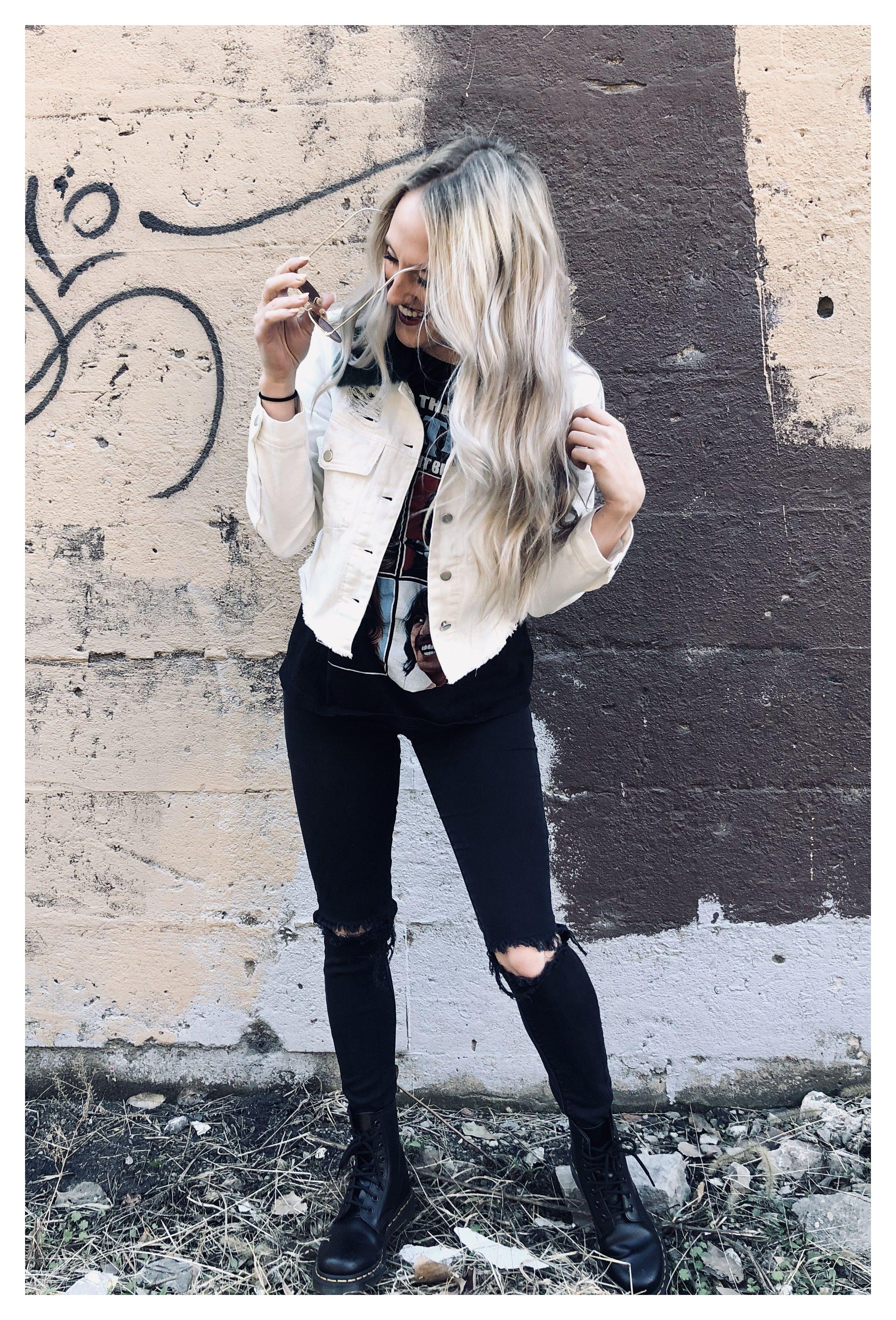 Denim Street White Denim Jacket Outfit Winter This Jacket Tho The White Albu White Denim Jacket Outfit White Jean Jacket Outfits White Denim Jacket [ 3791 x 2574 Pixel ]