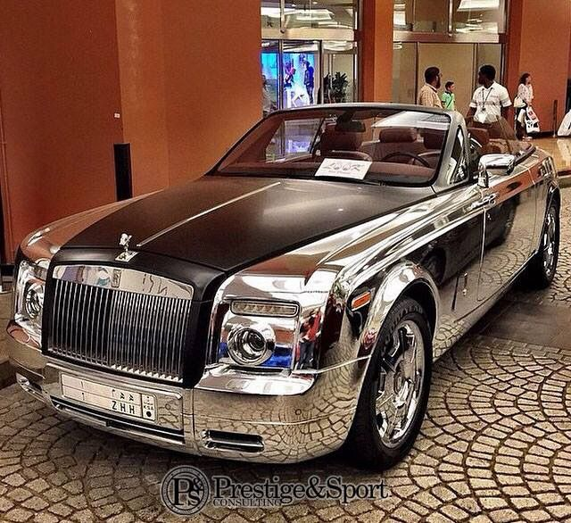 "2016 Rolls Royce Cabriolet ""Chrome Don't Get You Home, But"
