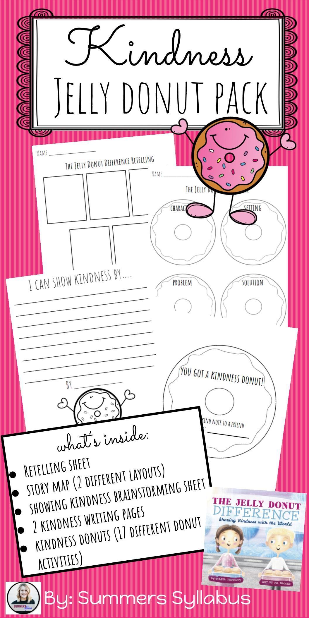Kindness Jelly Donut Pack