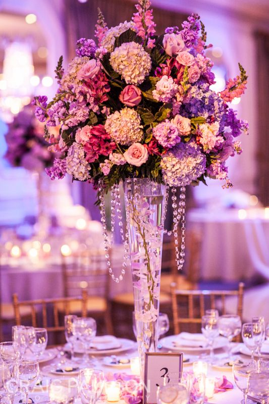 Nancy & Todd's Wedding at The Rockleigh - Craig Paulson Photography 2013 - NYC Wedding Photographer #floral #arrangements #washington #dc #pink #color