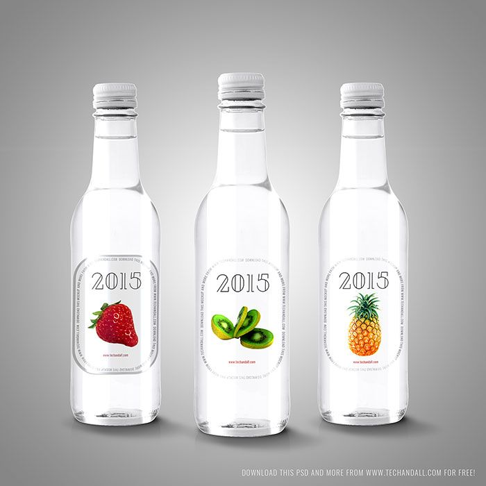 Download Download a water bottle mockup from these templates ...