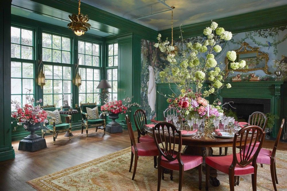 Charmant This Spectacular Dining Room Features The Whimsical Interior And Floral  Designs Of Ken Fulk. Created For The Imaginary U201cMadame F.u201d, The Room  Surrounds ...