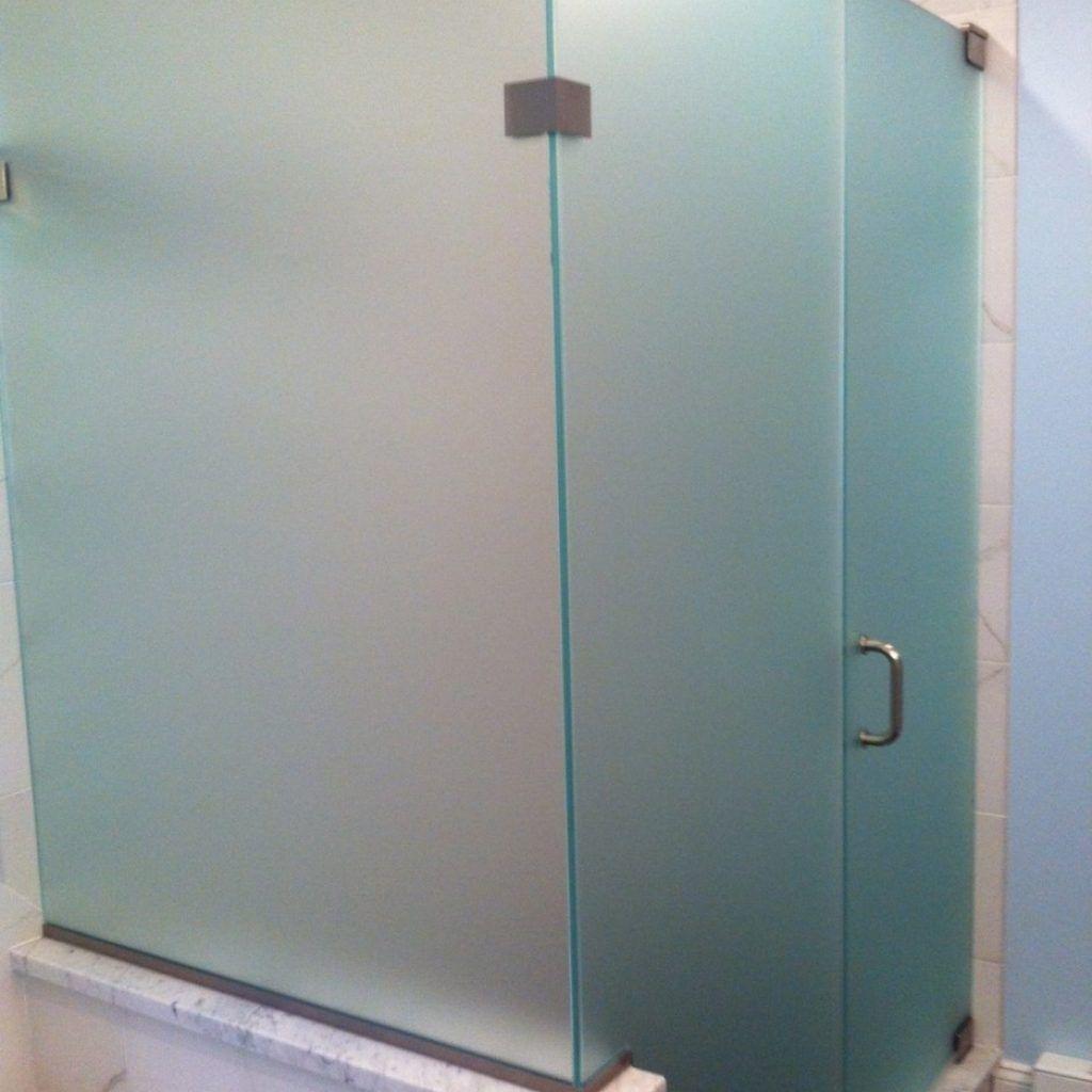 Opaque Shower Doors Glass Frosted Glass Shower Door Glass