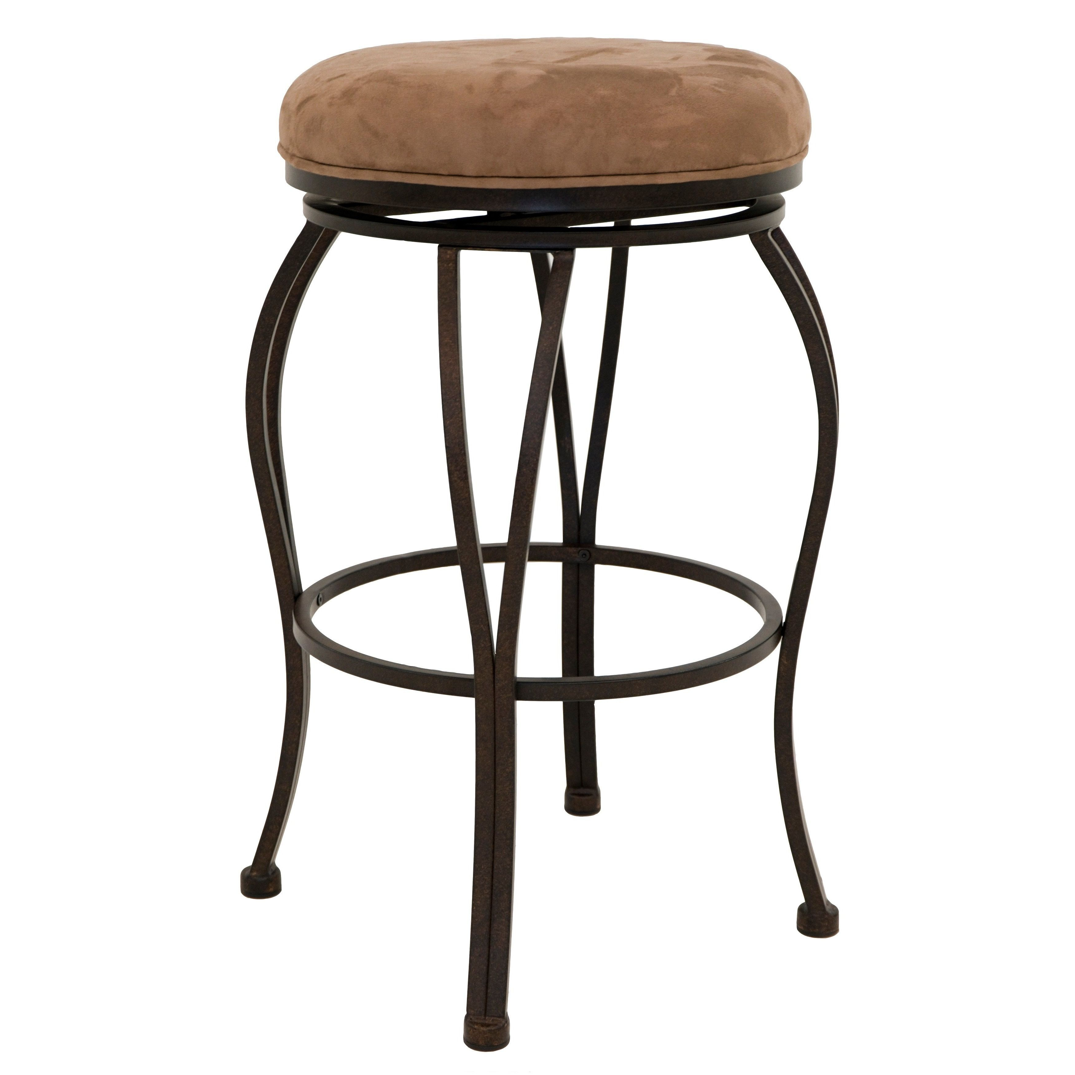 Lexington 26 inch backless swivel counter stool lexington backless counter stool brown