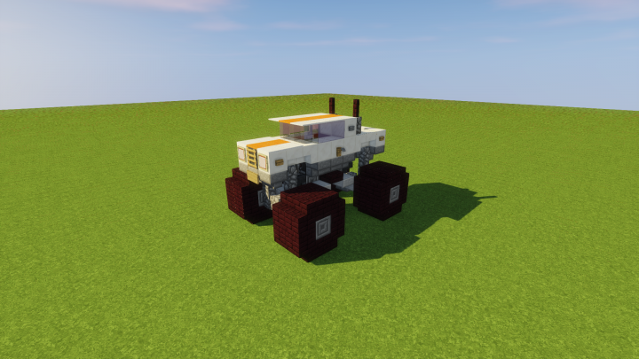 Monster Truck Minecraft Project Alex Minecraft Projects