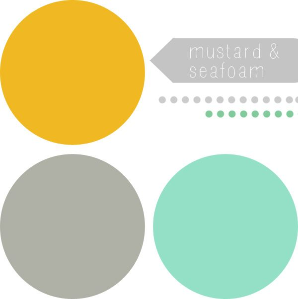 Mustard Yellow Color Palette Color Inspo Seafoam Mustard