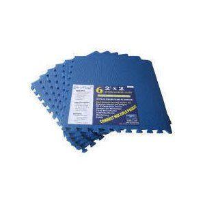 Get rung mats blue sq ft pack foam interlocking mats anti