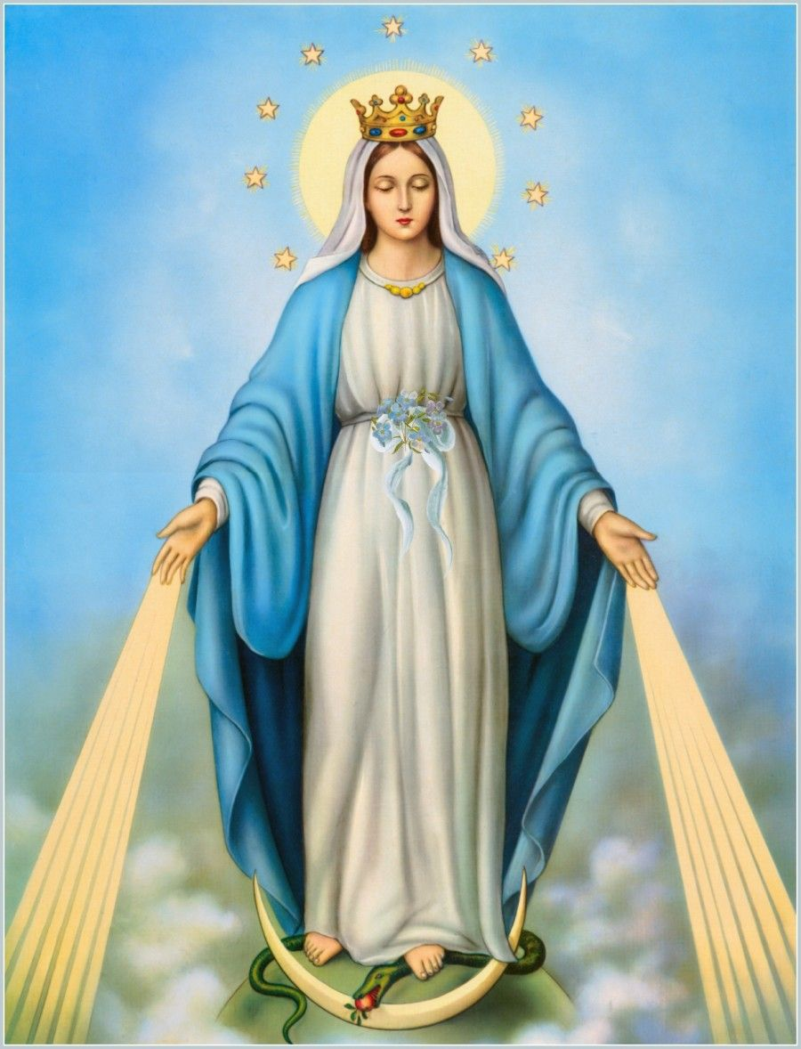 The immaculate conception- Ayida Wedo - is the rainbow serpent ...