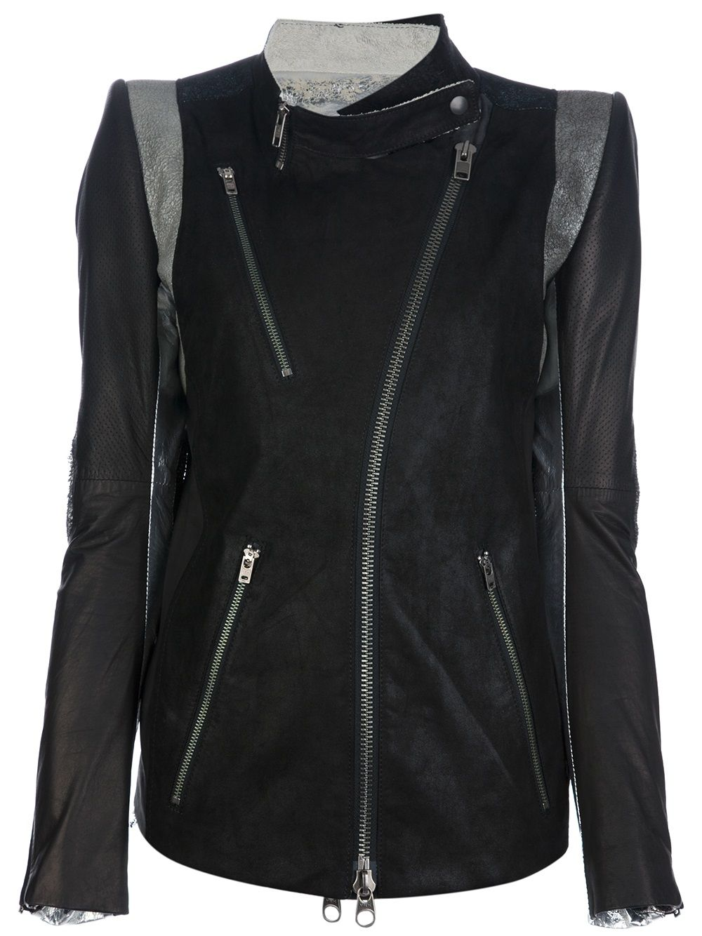 IF SIX WAS NINE kangaroo leather biker jacket 7 Andrógino