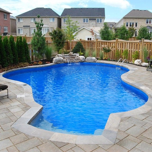 Inground Pools Pioneer Family Pools 19 Stores In Ontario Backyard Pool Landscaping Pools Backyard Inground Inground Pool Landscaping