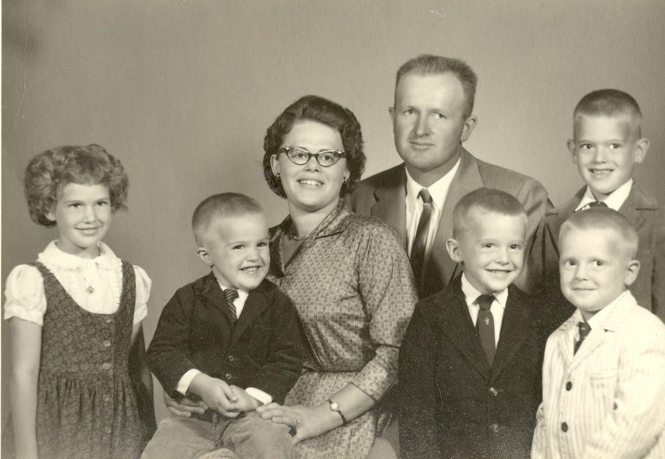 James Fowler Family 1960s Snapshots Photo Vintage Photos