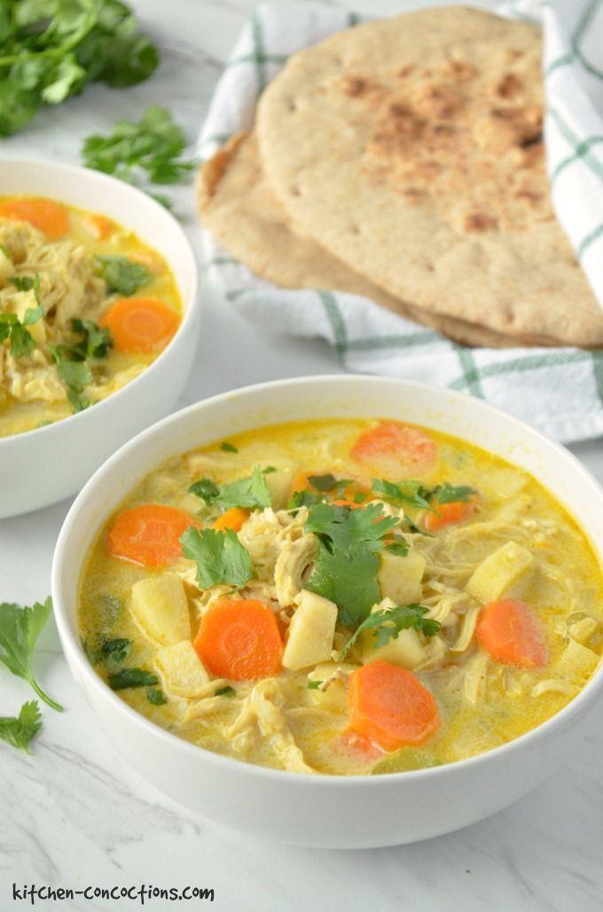 The Best Chicken Mulligatawny Soup Recipe