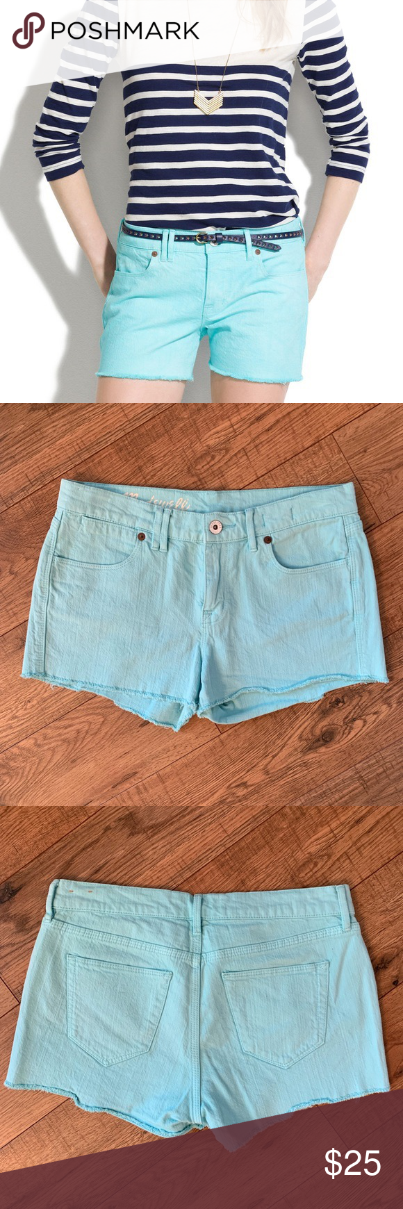 """Madewell Cutoff Shorts Bright/light blue denim cutoff shorts. Size 26 with a 2"""" inseam, 8.5"""" rise, 14.5"""" waist across. Excellent condition, no flaws. Madewell Shorts Jean Shorts #denimcutoffshorts Madewell Cutoff Shorts Bright/light blue denim cutoff shorts. Size 26 with a 2"""" inseam, 8.5"""" rise, 14.5"""" waist across. Excellent condition, no flaws. Madewell Shorts Jean Shorts #denimcutoffshorts"""