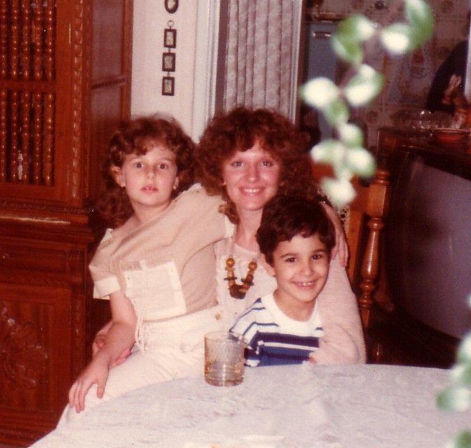 Camila e Renato crianças e eu ...