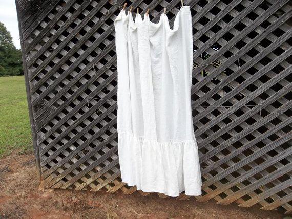 Best 25+ White Linen Curtains Ideas On Pinterest