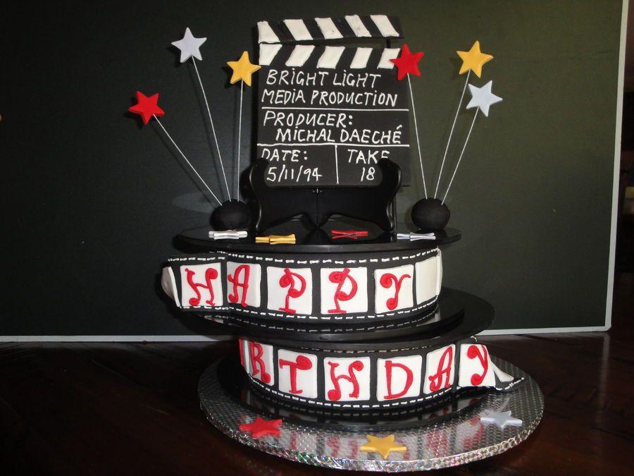 Movie Star / Movie Night Cake Ideas Celebrations, Cake