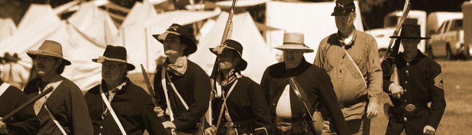 13th Texas Reenactment Calendar - Civil War Reenactment