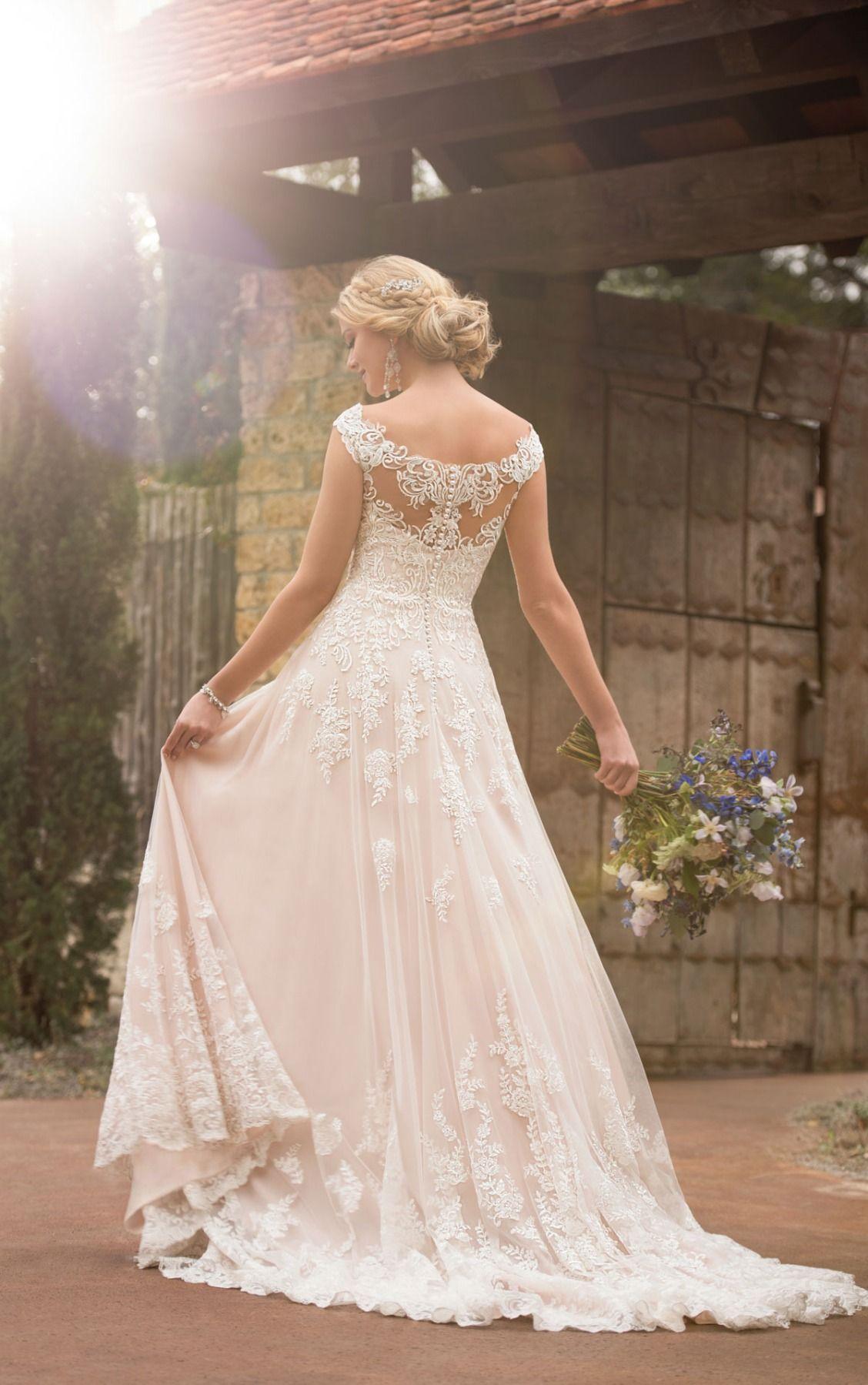 Casual hippie wedding dresses  The casual boho wedding dress is simply a dream come true Trend