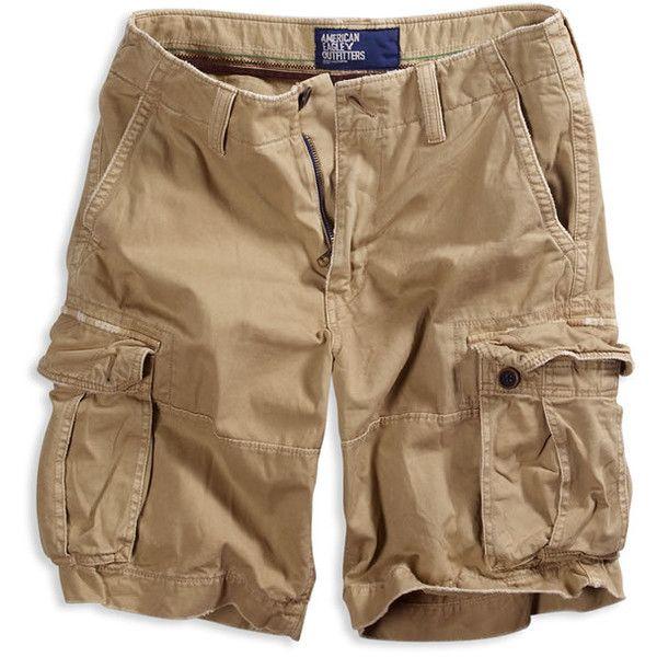 Men's Surplus Cargo Shorts - Field Khaki, Sail Cloth, Uniform Grey, W (